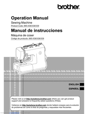 Brother 885-X38 Operation Manual