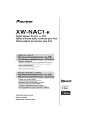 Pioneer XW-NAC1-K Operating Instructions Manual