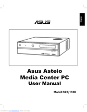 Asus Asteio D22 User Manual