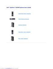 dell gx280dt gx280 desktop computer manuals rh manualslib com