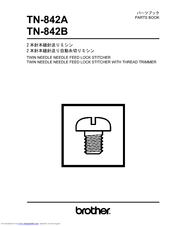 Brother TN-842A Parts Manual