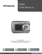 polaroid camera i1236 user manual