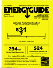 Maytag MDB8949SBB Energy Manual