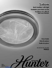 Hunter 90053 Parts Manual