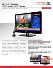 ViewSonic VT2215LED Monitor New