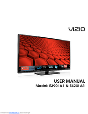 Vizio E500i-A1 User Manual
