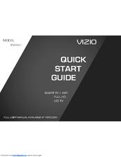 Vizio E500i-A1 Quick Start Manual