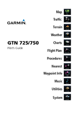 Garmin nuvi 750 Pilot's Manual