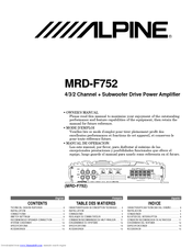 443030_mrdf752_owners_manual_product alpine mrd f752 manuals 30 Amp RV Wiring Diagram at bayanpartner.co