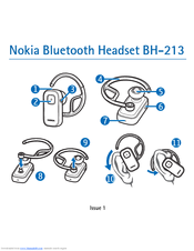 Nokia BH 213 - Headset - Over-the-ear User Manual