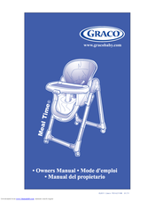 Gentil Graco 1757789   Mealtime Highchair Little Hoot Owneru0027s Manual