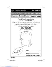 hamilton beach ice cream maker manual