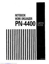 Brother PowerNote PN-4400 User Manual