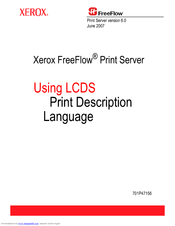 Xerox 6180DN - Phaser Color Laser Printer Software Manual