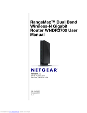 netgear wndr3700 100nas manuals rh manualslib com netgear wndr3700 manual svenska netgear wndr3700 firmware update