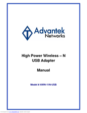 ADVANTEK AWN-USB-54S DRIVER FOR WINDOWS 7