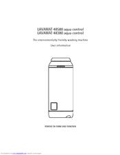 AEG LAVAMAT 48380 User Information