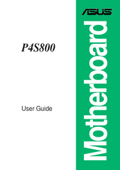 asus p4s800 user manual pdf download rh manualslib com asus p4s800-mx manual asus p4s800-mx se manual