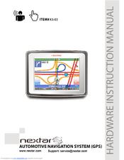 nextar x3 03 automotive gps receiver manuals rh manualslib com