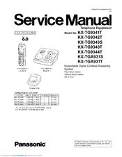 panasonic kx tg9341t cordless phone metallic manuals rh manualslib com Panasonic Kx TG6645B Manual Panasonic Kx Instruction Manual Tgf350