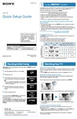 sony kdl 32r400a quick setup manual pdf download rh manualslib com Symbol LS4278 Quick Reference Guide Symbol LS4278 Quick Reference Guide