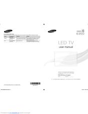 Samsung UN55F6350AF Quick Manual