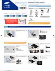 Samsung UN55F6350AF Quick Start Manual
