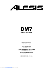 alesis dm7 manuals rh manualslib com alesis dm7 manual pdf alesis dm8 manual