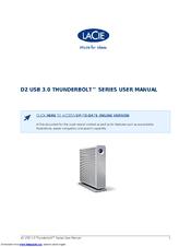 lacie d2 usb 3 0 thunderbolt manuals rh manualslib com apple thunderbolt display user manual thunderbolt duo user manual