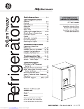 GE Cafe CYE Series Owner's Manual & Installation Instructions