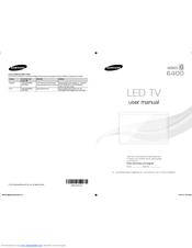Samsung UN55F6400AF Quick Manual