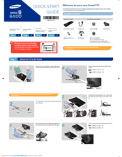 Samsung UN55F6400AF Quick Start Manual