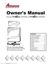 amana the bigoven acf4255a owner s manual pdf download rh manualslib com Amana Convection Microwave Manual Amana Convection Express Manual