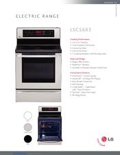 LG LSC5683WS Brochure
