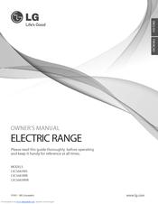 LG LSC5683WS Owner's Manual