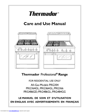 thermador professional prg304 manuals rh manualslib com thermador range service manual thermador professional range owners manual
