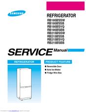 SAMSUNG RB215BSSB SERVICE MANUAL Pdf Download