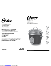 Oster 10 Cup Rice Cooker Reference Manual