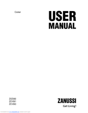 Zanussi ZCV561DX User Manual