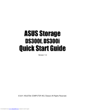 Asus DS300i Quick Start Manual