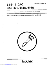 Brother BES-1210AC Service Manual