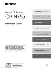 onkyo cs n755 manuals rh manualslib com onkyo cr-n755 service manual onkyo cs-n755 manual