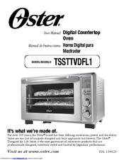 oster 6 slice digital toaster oven manuals rh manualslib com Oster Convection Toaster Oven Oster Convection Toaster Oven