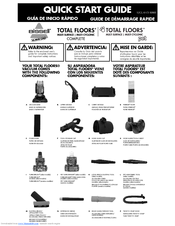 Bissell Total Floors® Complete Vacuum 52C2 Quick Start Manual