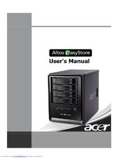 acer altos easystore user manual pdf download rh manualslib com acer easystore h340 manual acer easystore manual