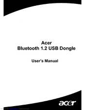 Acer BT-800 User Manual