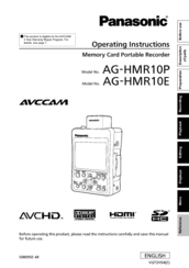 Panasonic AG-MDR15 Recorder Treiber Windows 7