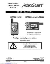 Astrostart 2205U Manuals