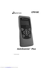 Actron Autoscanner Plus Cp9180 Manuals Manualslib