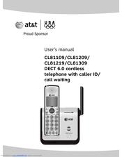 at t cl81309 at t dect 6 0 manuals rh manualslib com AT&T DECT 6.0 Manual AT&T DECT 6.0 Int Button
